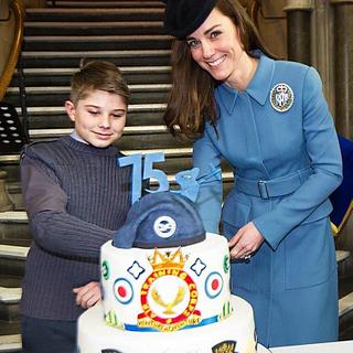 Air Cadets 75th Anniversary Cake