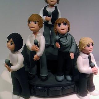 One Direction Boy Band Cake