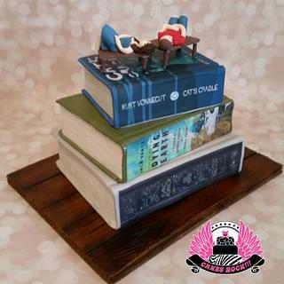 Stack of Books Anniversary