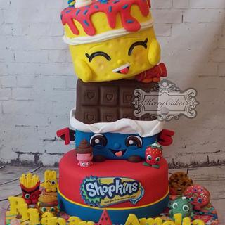 Shopkins - Cake by kerrycakesnewcastle