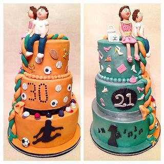 Joint Birthday Cake!