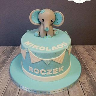 Elephant Cake inspired by A Pocket Full Of Sweetness