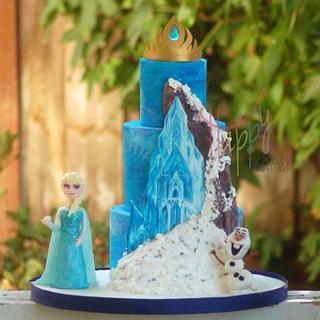 Icing Smiles Frozen cake