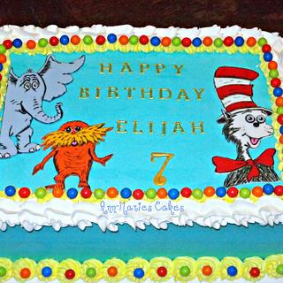 Dr. Suess Birthday - Cake by Ann-Marie Youngblood