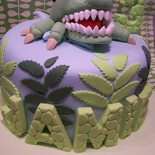 Roarrrrrrrrrrrrr - Cake by SueC