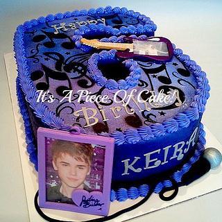Justin Beiber Cake