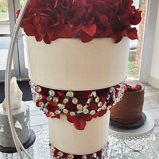 Upside Down, Hanging Wedding Cake