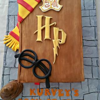 Harry Potter themed - Cake by Love for Sweets