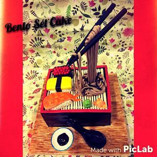 Bento Set Cake