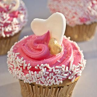 Love At First Sight Cupcakes