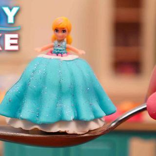Miniature Doll Cake 💕