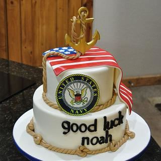 Military enlistment - Cake by Cakes For Fun