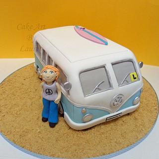 Kombi Van Birthday Cake - Cake by Lauren