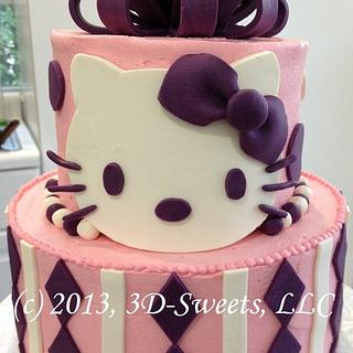 Hello Kitty! - Cake by 3DSweets