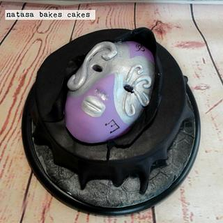 Carnevale birthday cake