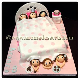 Slumber Party Cake - Cake by Anna Lenis