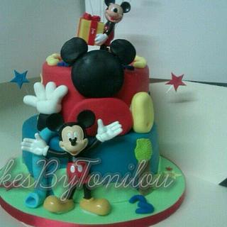 Disney playhouse cake - Cake by CakesByTonilou