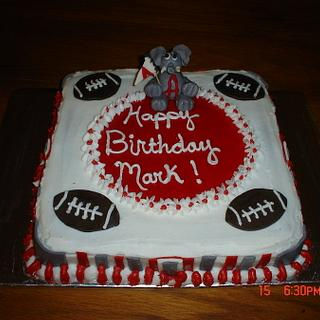Alabama cake with a 50/50 elephant - Cake by Dana