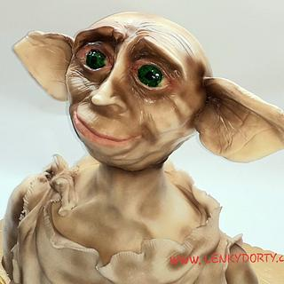 Dobby 3D cake
