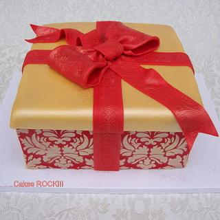 Christmas Gift Cake - Cake by Cakes ROCK!!!