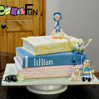 Mother goose story books cake - Cake by Cakes For Fun