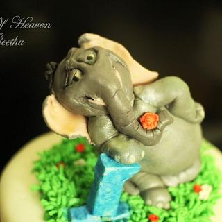 Horton hears a Who? - Cake by Slice of Heaven By Geethu