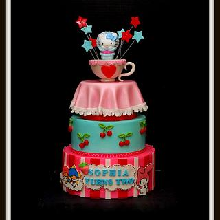Hello Kitty Cake - Cake by Marjorie