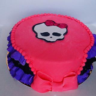 cake monster high - Cake by Evgenia