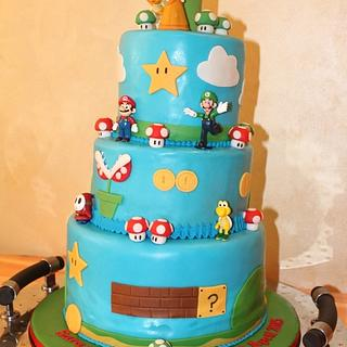 Super Mario Wedding Cake - Cake by Laura Jabri