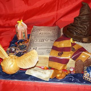 Harry Potter Cake - Cake by femmebrulee