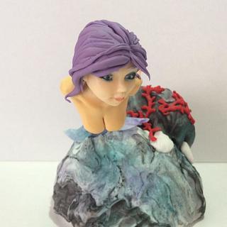 mermaid - Cake by MELANIASCAKEATELIER