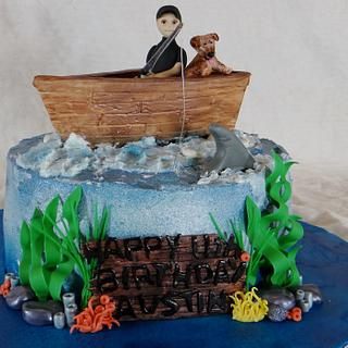 Fishing Boat - Cake by BellaCakes & Confections