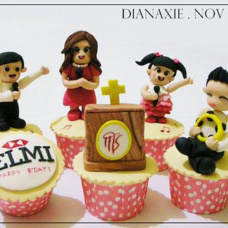 Church Singers - Cake by Diana