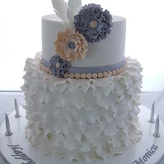 Petal Ruffle Cake