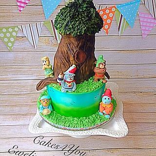 Gummi bears cake - Cake by Cakes4you.ewelina