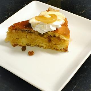 Pear Sponge Cake