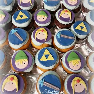 Legend of Zelda cupcakes - Cake by Donna Tokazowski- Cake Hatteras, Hatteras N.C.