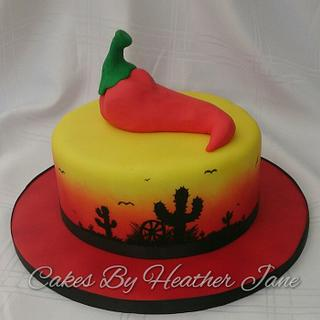 Mexican Chilli flavoured cake - The Louisiana