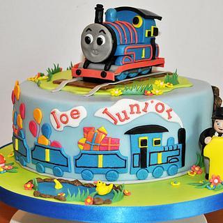 Thomas The Tank Engine - Cake by Sylvania Cakes - Exeter