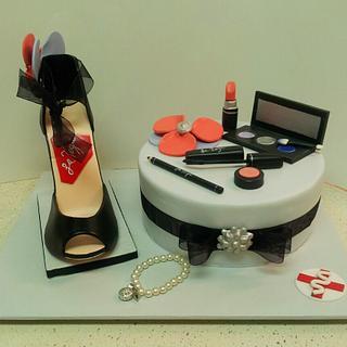 Makeup & Hi Heel Cake