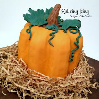Pumpkin cake - Cake by Enticing Icing