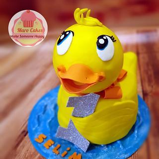 Cuty ducky  - Cake by Maro Cakes