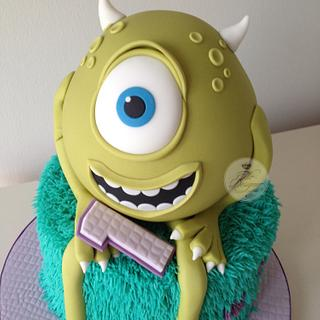Monsters Inc Birthday Cake