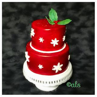 Christmas cake - Cake by ALotofSugar