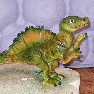 modeling dinosaur