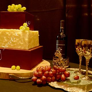 Wine Cake - Cake by Cosette