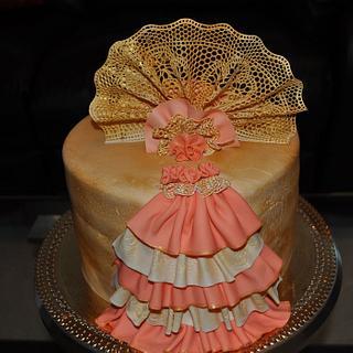 sugar veil cake