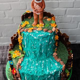 cake for Yfke who loves Vaiana