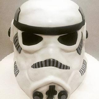 stormtrooper  - Cake by SannesTorten