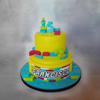 Lego Cake - Cake by Bake My Day
